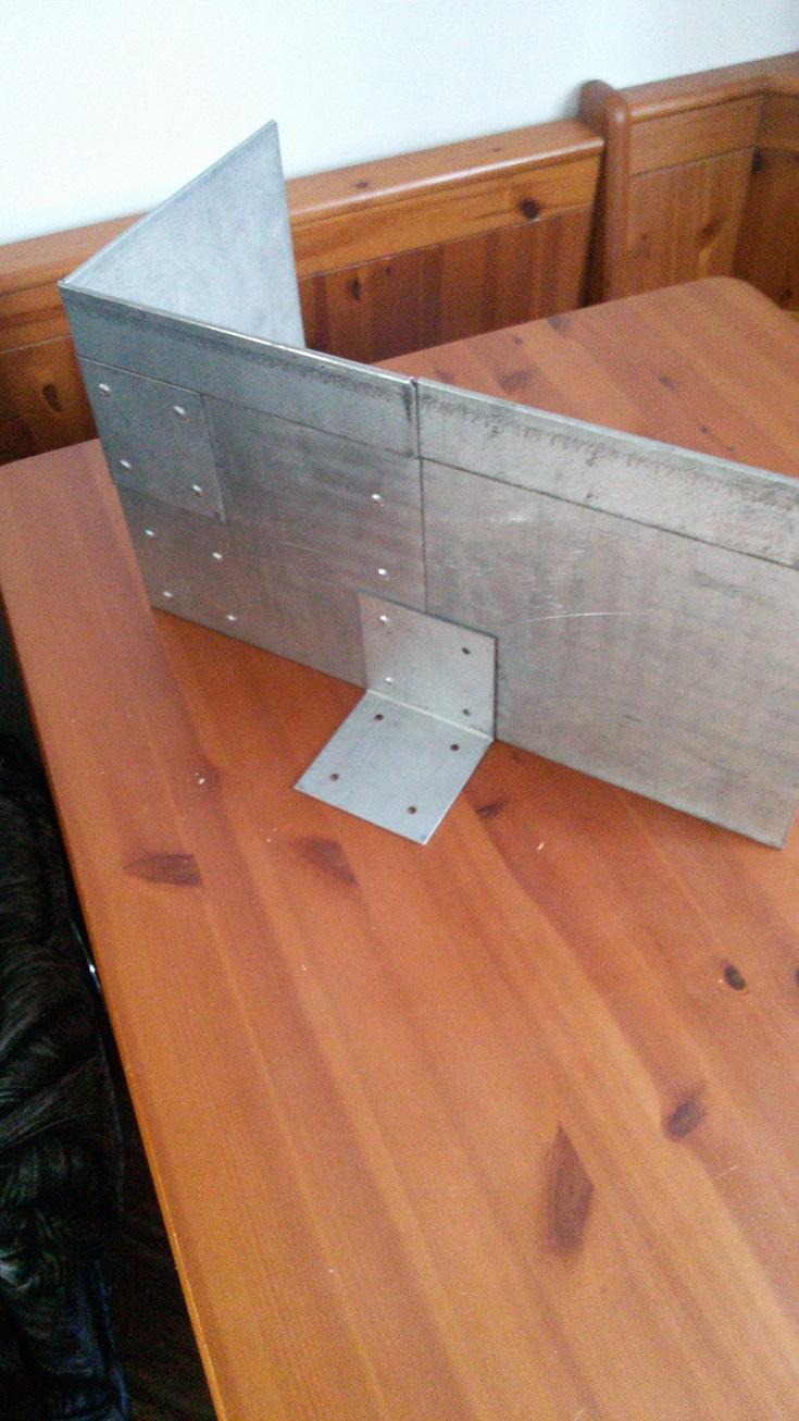металевий поребрик